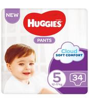 HUGGIES 34SZT PANTS JUMBO 5 (12-17KG) PIELUCHOMAJTKI