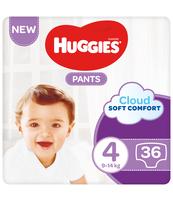 HUGGIES 36SZT PANTS JUMBO 4 (9-14KG) PIELUCHOMAJTKI