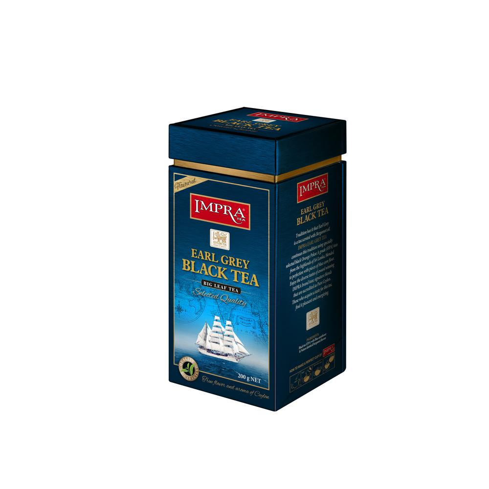 IMPRA EARL GREY BLACK TEA 200G