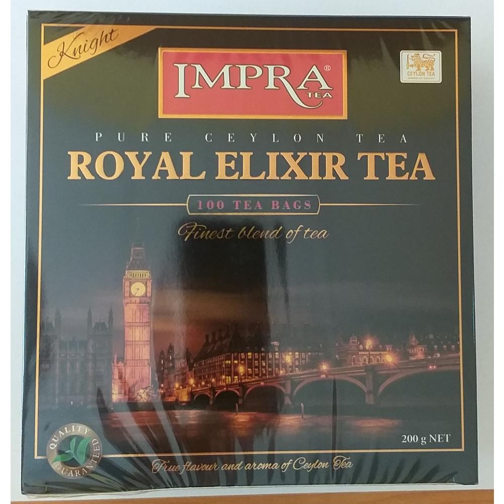 IMPRA ROYAL ELIXIR KNIGHT 100 TEA BAGS 200G