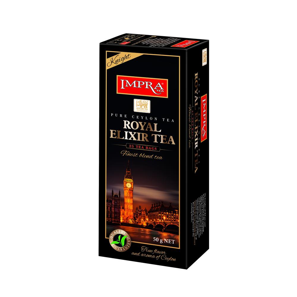 IMPRA ROYAL ELIXIR TEA KNIGHT 25 TEA BAGS 50G