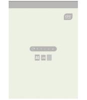 BLOK BIUROWY W KRATKĘ A6 100 KARTEK, INTERDRUK