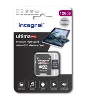 KARTA PAMIĘCI INTEGRAL 128GB MICRO SDXC 90V30 Z ADAPTEREM