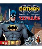 KOLOROWANKA Z TATUAŻAMI. BATMAN. DC COMICS