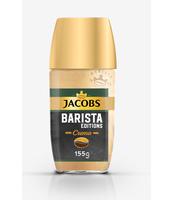 JACOBS BARISTA CREMA KOMPOZYCJA KAWY ROZPUSZCZALNEJ I ZMIELONYCH ZIAREN KAWY 155 G