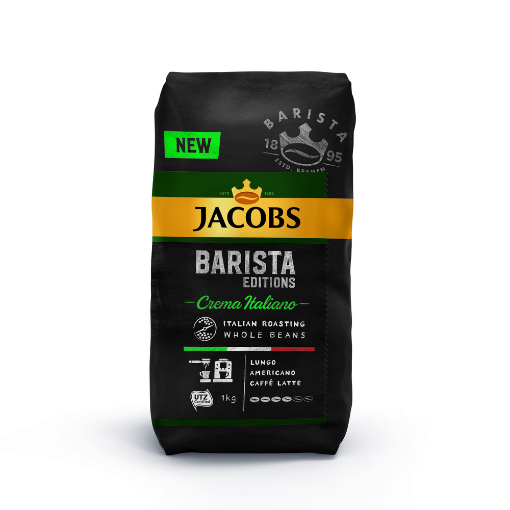 JACOBS BARISTA EDITION CREMA ITALIANO KAWA ZIARNISTA 1 KG