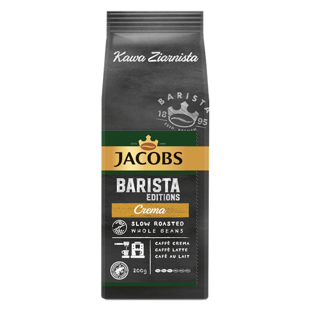 JACOBS BARISTA EDITION CREMA KAWA ZIARNISTA 200G