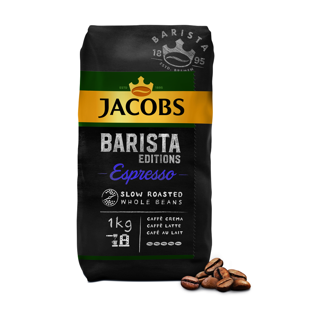 JACOBS BARISTA EDITION ESPRESSO KAWA ZIARNISTA 1 KG