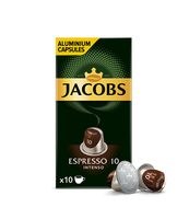 JACOBS ESPRESSO INTENSO 10 KAWA MIELONA 10 KAPSUŁEK 52 G