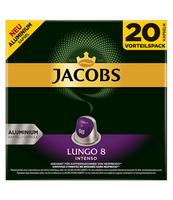 JACOBS LUNGO INTENSO 8 KAWA MIELONA W KAPSUŁKACH 20 SZT, 104 G