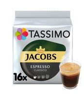 TASSIMO JACOBS ESPRESSO CLASSICO KAWA MIELONA 16 KAPSUŁEK 118,4 G
