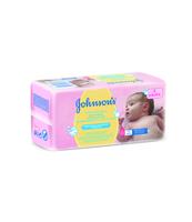 JOHNSON'S BABY BEZZAPACHOWE CHUSTECZKI OCZYSZCZAJĄCE 2X56SZT