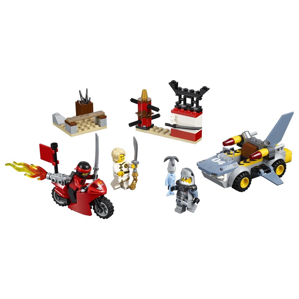 KLOCKI LEGO JUNIORS ATAK REKINÓW 10739