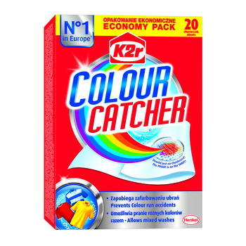 K2R COLOUR CATCHER 20SZT