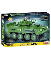 KLOCKI SMALL ARMY 2609 LAV III APC 480 ELEM./1 FIGURKA
