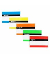 KORFED ETYKIETY CENOWE LAMINOWANE 9,5X6CM MIX X 20 SZT.