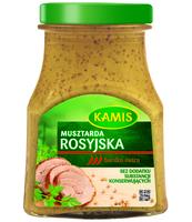 KAMIS MUSZTARDA ROSYJSKA 180 G