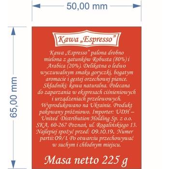 "KAWA MIELONA ""ESPRESSO"" 225G"