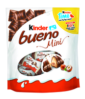 KINDER BUENO MINI BAG, WAFELKI Z NADZIENIEM 108G