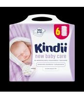 CHUSTECZKI DLA NIEMOWLĄT CLEANIC KINDII NEW BABY CARE 6 X 60 SZT.