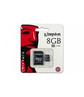 KARTA MICROSD KINGSTON 8GB 1-ADAPTER CLASS 4