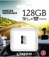 KARTA MICROSD KINGSTON 128GB ENDURANCE C10 A1 UHS-I