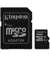 KARTA PAMIĘCI KINGSTON MICRO SDHC CLASS 10 32 GB