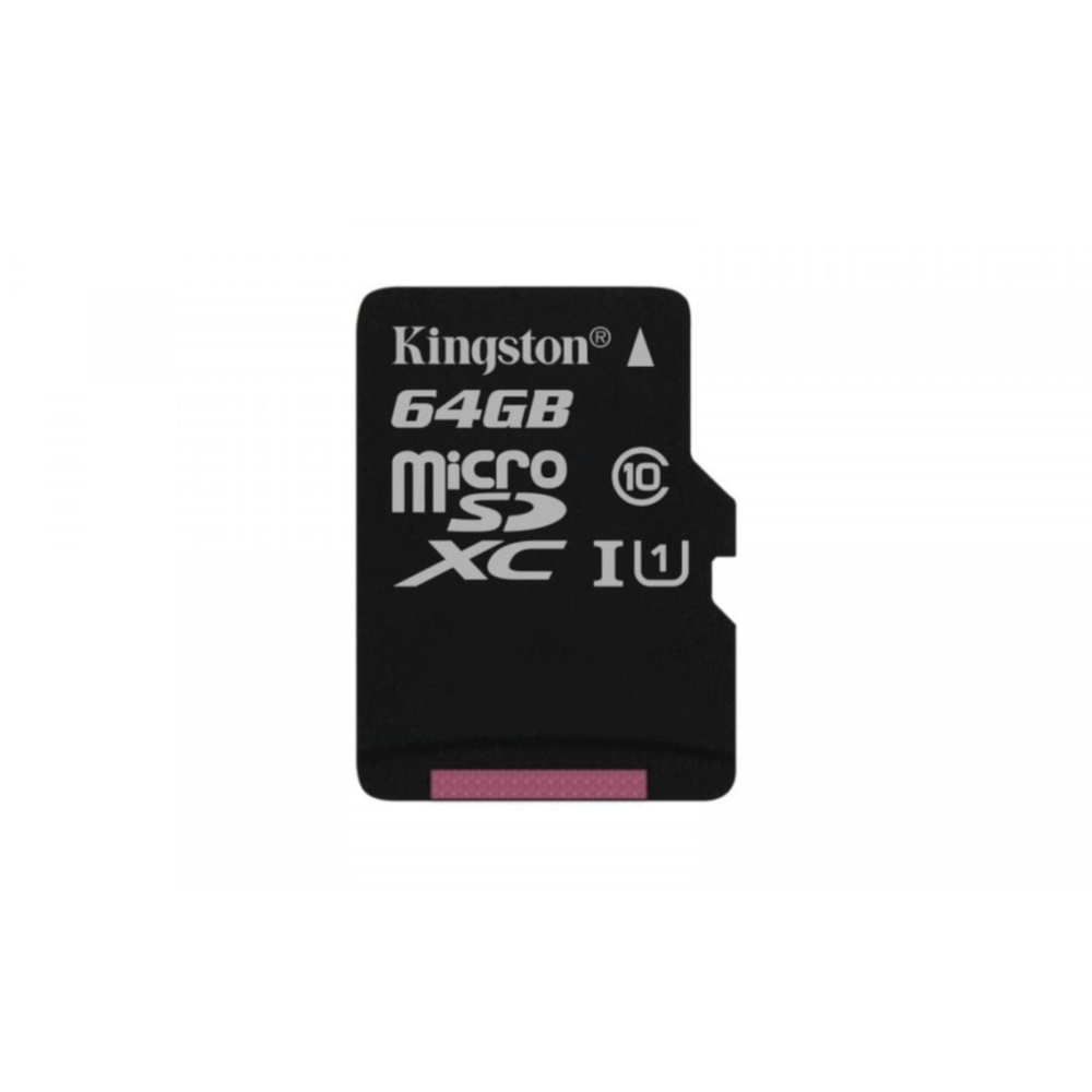 KARTA PAMIĘCI KINGSTON CANVAS SELECT MICROSD 64GB