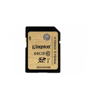 KARTA SDXC KINGSTON 64GB CLASS10 UHS-I ULTIMATE FLASH CARD