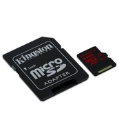 KARTA MICROSDXC KINGSTON 64GB UHS-I(U3) + ADAPTER