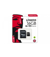 KARTA MICROSD KINGSTON 16GB CLASS10 CANVAS SELECT 80