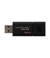 PAMIĘĆ USB KINGSTON DATA TRAVELER 100G3 64GB USB 3.0