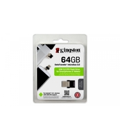 PAMIĘĆ USB KINGSTON DATA TRAVELER MICRODUO 64GB OTG