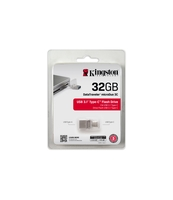 PENDRIVE KINGSTON DATA TRAVELER MICRODUO 3C 32GB