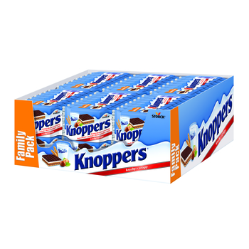 WAFELEK KNOPPERS 8X25G