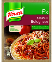KNORR FIX DO SPAGHETTI BOLOGNESE 44G