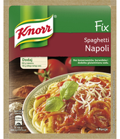 KNORR FIX DO SPAGHETTI NAPOLI 47G