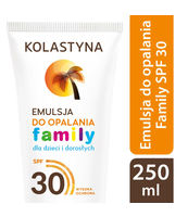 KOLASTYNA EMULSJA SPF30 DO OPALANIA FAMILY 250 ML