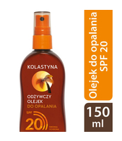 KOLASTYNA OLEJEK DO OPALANIA SPF20 150ML