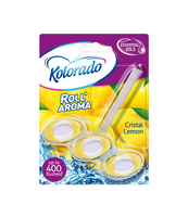KOLORADO KOSTKA DO WC ROLL'AROMA CRISTAL LEMON 51G