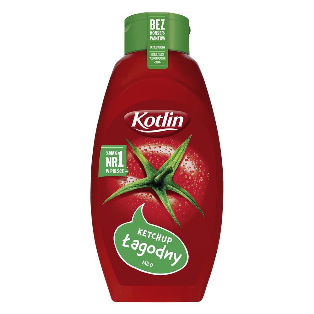 KOTLIN KETCHUP ŁAGODNY 950 G