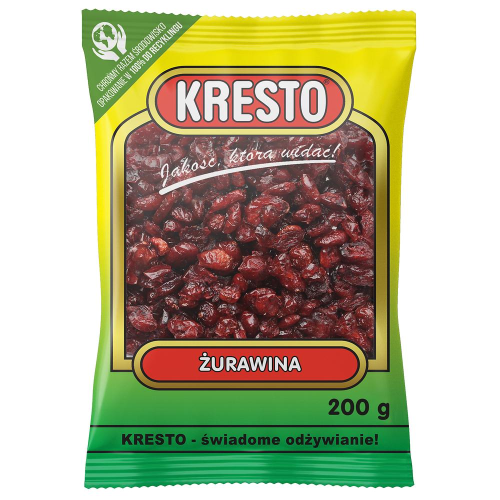 KRESTO ŻURAWINA SUSZONA 200G