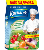 PRZYPRAWA DO POTRAW 1,5 KG KUCHAREK