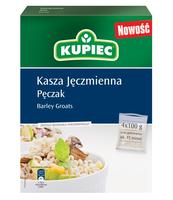 KUPIEC KASZA JĘCZMIENNA PĘCZAK 4X100 G