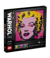 KLOCKI LEGO® ART. MARILYN MONROE ANDY'EGO WARHOLA (31197)