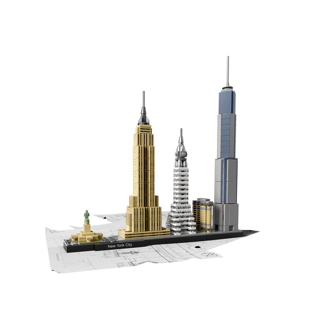 KLOCKI LEGO ARCHITECTURE NOWY JORK 21028