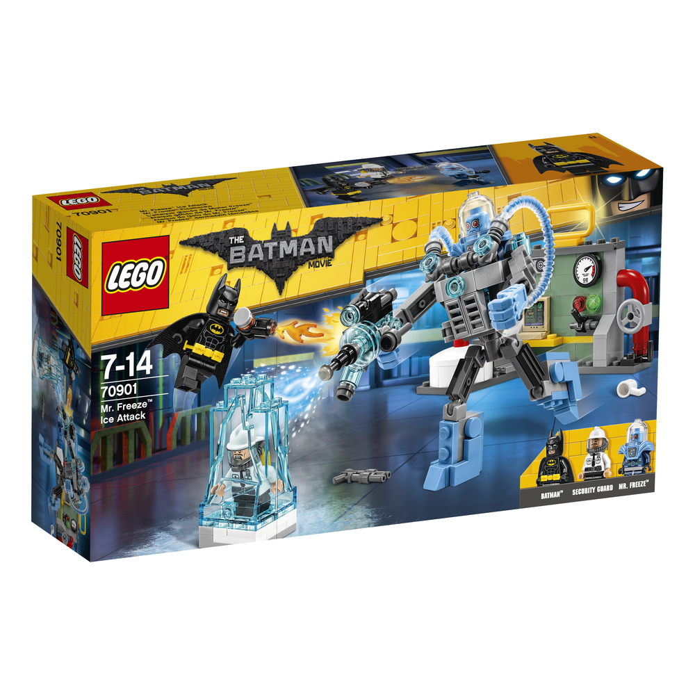 KLOCKI LEGO BATMAN MOVIE LODOWY ATAK MR. FREEZE'A™ 70901