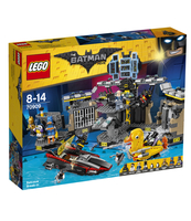 KLOCKI LEGO BATMAN MOVIE WŁAMANIE DO JASKINI BATMANA 70909