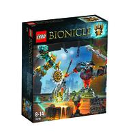 KLOCKI LEGO BIONICLE TWÓRCA MASEK KONTRA WŁADCA CZASZEK 7