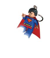 BRELOK DO KLUCZY Z LATARKĄ LEGO® DC SUPER HEROES™ SUPERMAN™
